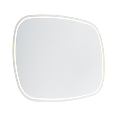 Bathroom mirror incl. LED with touch dimmer IP44 - Miral