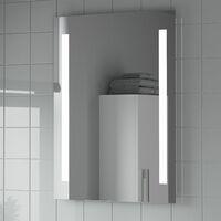 Bathroom Mirror LED Illuminated Mains Power Contemporary IP44 Rated 600x800mm