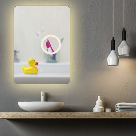 Bathroom mirror with LED Dimmable 500 x 70cm Anti-fog Make-up Mirror