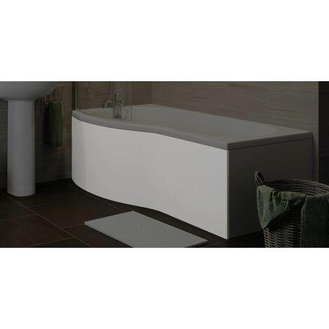 "main image of ""Bathroom P Shaped Bath Panel Only"""