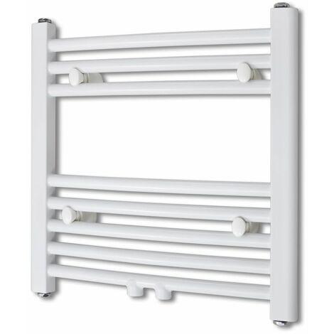 Bathroom Radiator Central Heating Towel Rail Curve 480 x 480 mm QAH03738