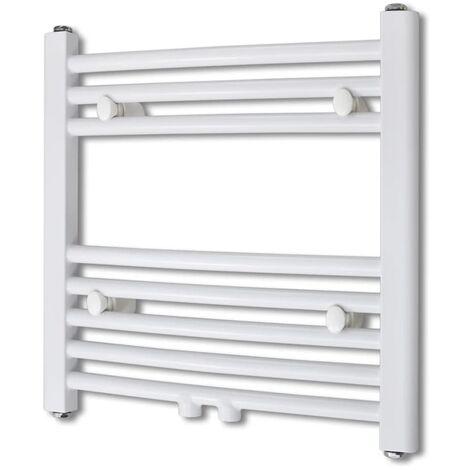 Bathroom Radiator Central Heating Towel Rail Curve 480 x 480 mm - White