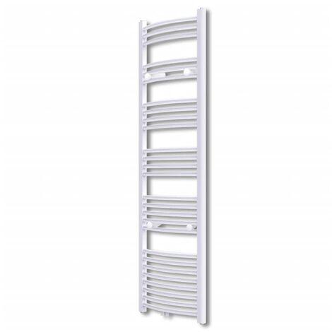 Bathroom Radiator Central Heating Towel Rail Curve 500 x 1732 mm