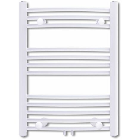 Bathroom Radiator Central Heating Towel Rail Curve 500 x 764 mm QAH03739