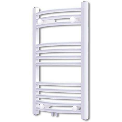 Bathroom Radiator Central Heating Towel Rail Curve 500 x 764 mm VD03739