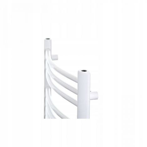 Bathroom radiator, white radiator, 48x58 cm New