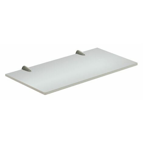 Bathroom Shelf Wall Mounted Storage Organiser Semi-Frosted Glass Accessory 30cm