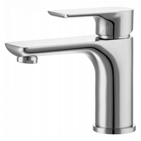 Bathroom standing washbasin faucet