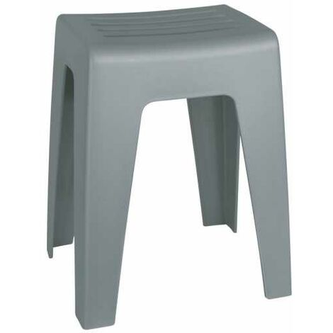 Bathroom Stool Kumba grey WENKO