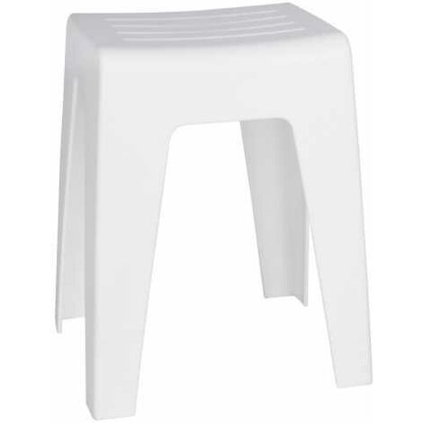 Bathroom Stool Kumba white WENKO