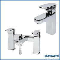 Bathroom Tap Set Mono Basin Sink Mixer Shower Filler Shower Head