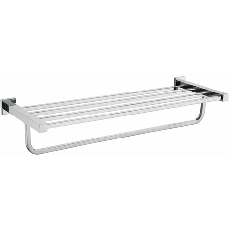 Bathroom Towel Shelf Rail