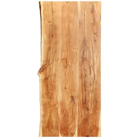 Bathroom Vanity Top Solid Acacia Wood 120x55x3.8 cm