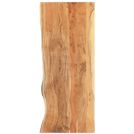 Bathroom Vanity Top Solid Acacia Wood 140x55x3.8 cm