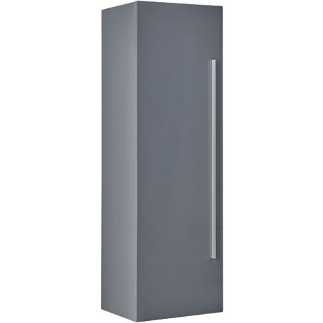 Bathroom Wall Cabinet Grey MATARO