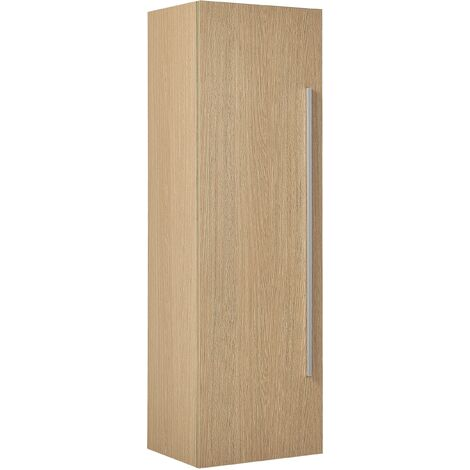 Bathroom Wall Cabinet Light Wood MATARO