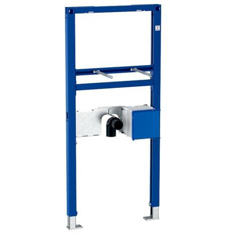Bâti-support Duofix lavabo, 112 cm, robinetterie sur gorge avec module fonctionnel à encastrer - Geberit