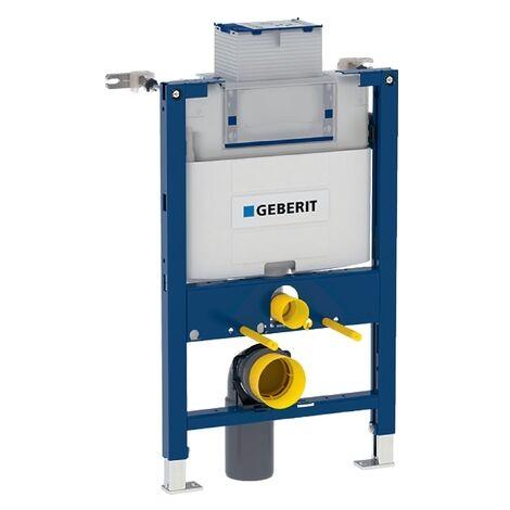 Bâti-support Duofix Omega 12 cm hauteur 82 cm en applique Geberit