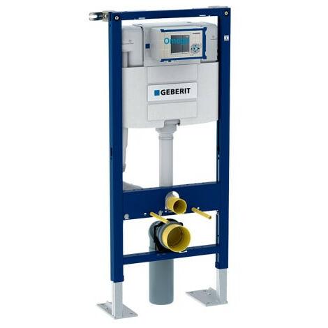 Bâti-support Duofix WC suspendu, 112 cm, réservoir à encastrer Omega 12 cm, autoportant - Geberit