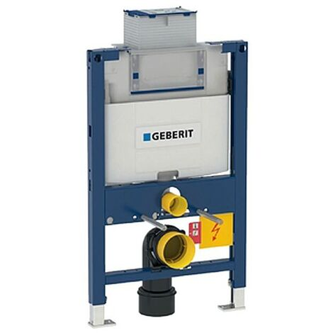 Bâti-support Geberit Duofix pour WC suspendu, 82 cm, avec réservoir à encastrer Omega 12 cm (111.003.00.1)