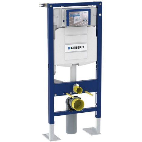 Bâti-support Geberit WC Duofix Sigma 12 cm (UP320) en applique Geberit