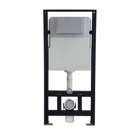 Bâti-support pour WC suspendu G3004A avec plaque de déclenchement - modèle sélectionnable