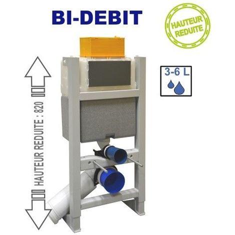 Bâti-support universel mécanique BI-DEBIT - fixation sol et mur