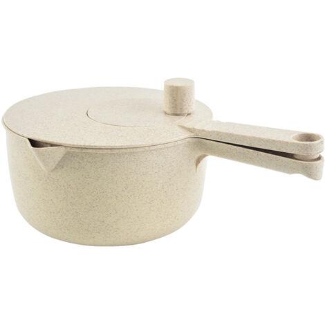 Batidora de huevos multifuncion Cocina Paja de trigo Lavadora de arroz Verduras Frutas Almacenamiento Olla de lavado