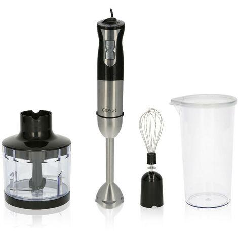 """main image of """"Batidora de mano, incluye accesorios, 1000 w. velocidad regulable. con vaso medidor, picador - triturador y varilla"""""""