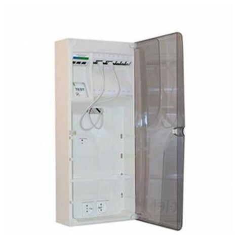 Batilec - Coffret de communication Fullbox 8 RJ45 Grade 1
