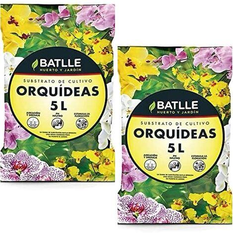 Batlle 10L 960046unid4 - Substrat pour orchidées 2X 5 l