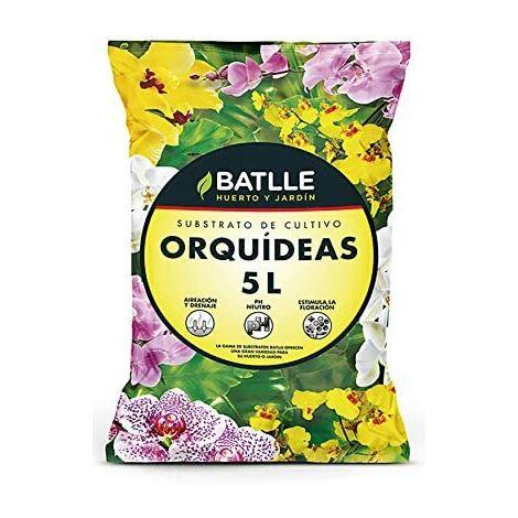 Batlle 960046unid4 - Substrat pour orchidées 5 l