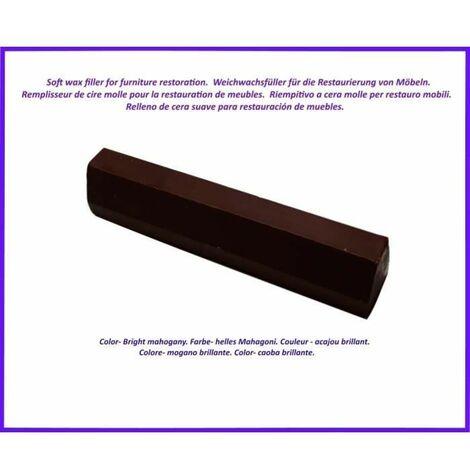Baton de remplissage de cire pour le bois et le stratifie. Couleur -Acajou clair. Le meilleur de l'elimination des defauts!