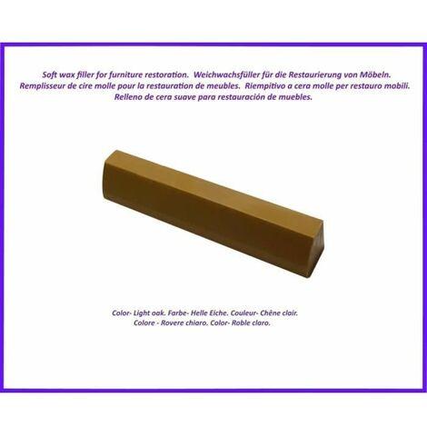 Baton de remplissage de cire pour le bois et le stratifie. Couleur -Chene clair. Le meilleur de l'elimination des defauts!