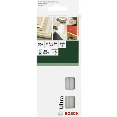 Bâtons de colle Bosch Accessories 2609256D29 7 mm 150 mm transparent (laiteux) 30 pc(s)