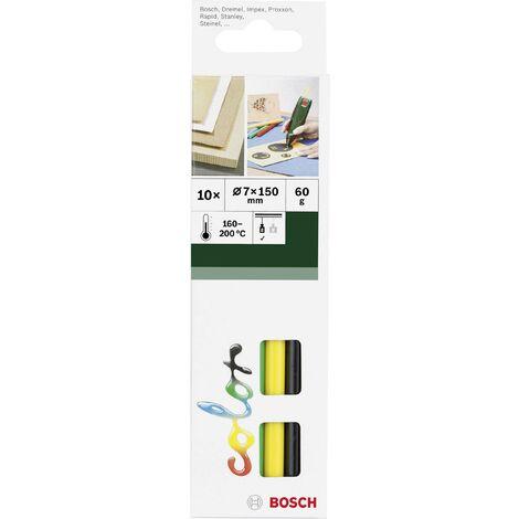 Bâtons de colle Bosch Accessories 2609256D30 2609256D30 7 mm 150 mm couleurs diverses 10 pc(s) Y147461
