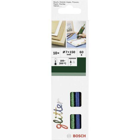Bâtons de colle Bosch Accessories 2609256D31 2609256D31 7 mm 150 mm couleurs diverses (brillant) 10 pc(s) Y147401
