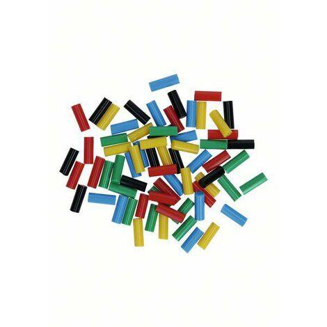 Bâtons de colle Bosch Accessories Gluey 2608002005 7 mm 20 mm rouge, jaune, bleu, noir, vert 70 pc(s) D696001