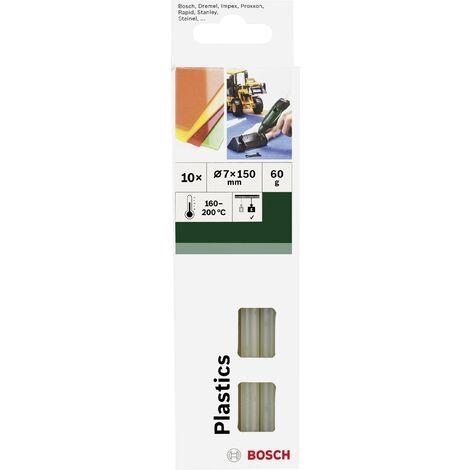 Bâtons de colle Bosch Accessories Plastics 2609256D32 7 mm 150 mm transparent 10 pc(s) Y147671