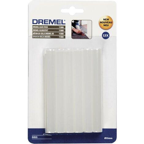 Bâtons de colle Dremel GG11 2615GG11JA 11 mm 100 mm transparent 12 pc(s)