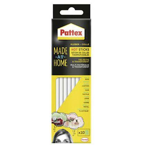 Bâtons de colle Pattex Made at Home PMHHS 11.3 mm 202 mm transparent 200 g