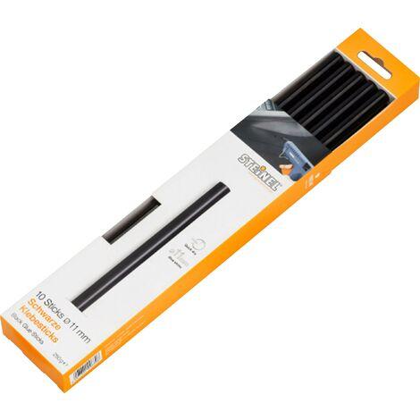 Bâtons de colle Steinel 006792 006792 11 mm 250 mm noir 10 pc(s) A587431