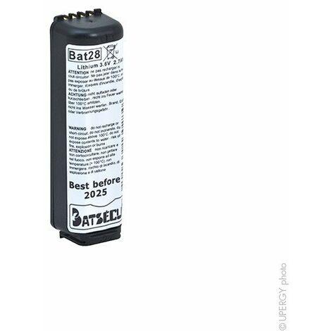 Batsecur - Batterie systeme alarme BATLI28 3.6V 2.7Ah
