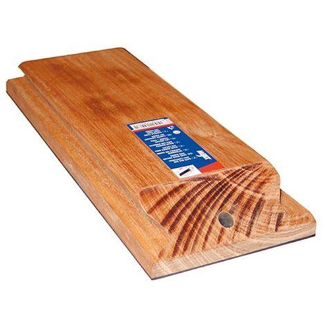 Batte de carreleur bois 300 x 120 mm avec semelle caoutchouc - 180262 - Mejix - -