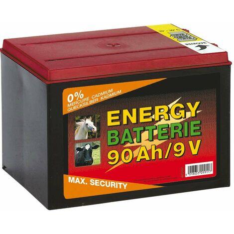 Batteria a 9V per elettrificatore completa di cavetti durata 10.000 ore