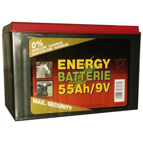 Batteria a 9V per elettrificatore con cavetti durata 5.000 ore non ricaricabile