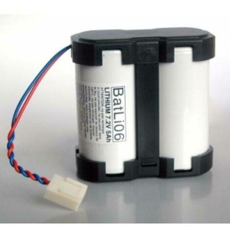 Batteria al litio 7,2v 5 ah per centrali e serene batli06