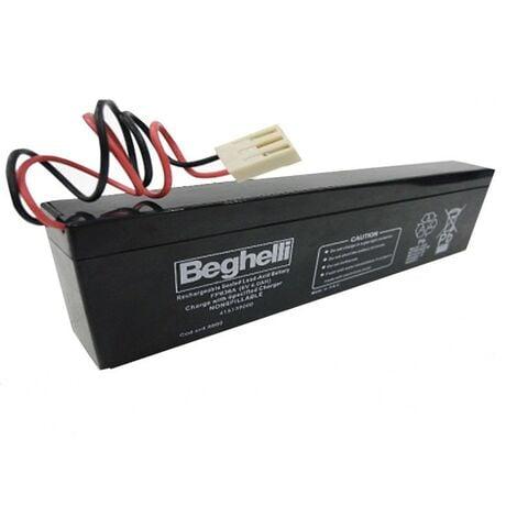 Batteria Beghelli PB 6V 4Ah SLIM 8800