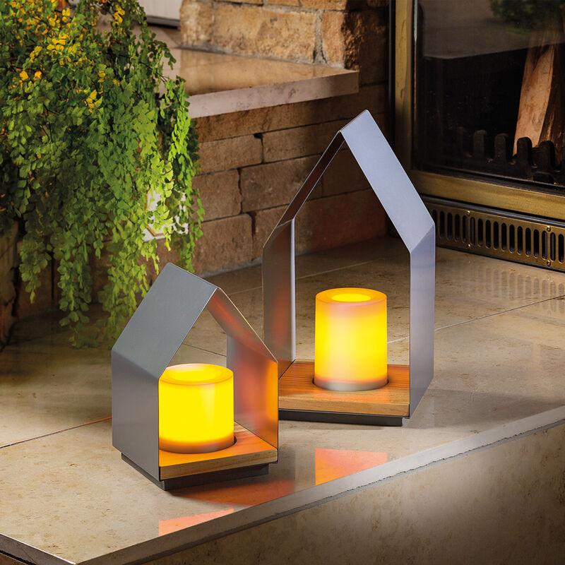 Batteria luci decorative impostare luce tremolante timer funzionamento LED luce d'atmosfera esotec 202005