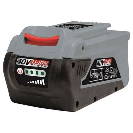 Batteria SCHEPPACH - 40V - 2,5Ah - BPS2.5-40LI